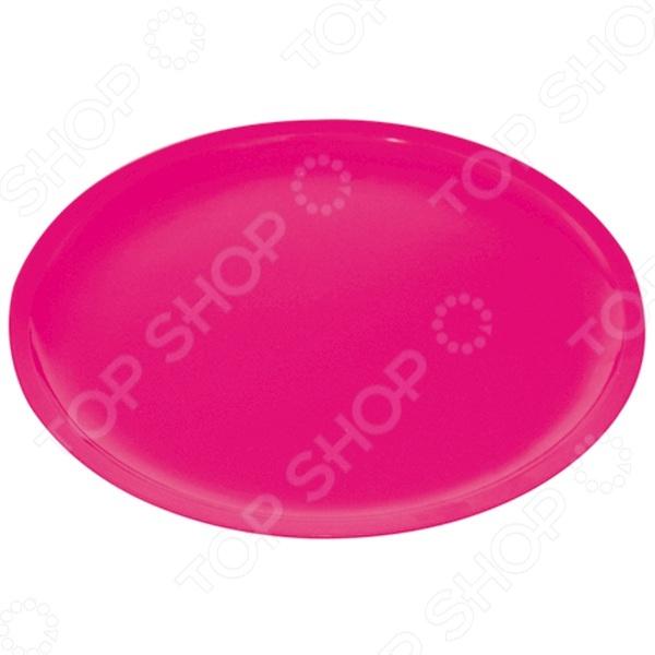 Тарелка обеденная Zak!designs Oceanside красочная посуда с высококачественным покрытием, которая внесет разнообразие в сервировку семейного стола. Материал абсолютно безопасен и не вступает в реакцию с продуктами, а так же не влияет на запах и вкус. Тарелка диаметром 26 см