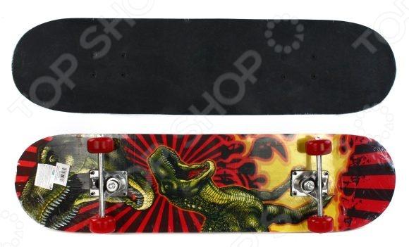 Скейтборд Shantou Gepai T-Rex attack скейтборд трюки