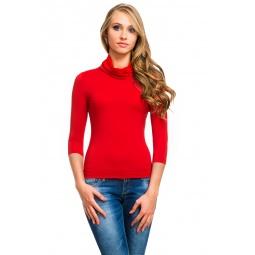 фото Водолазка Mondigo 211. Цвет: красный. Размер одежды: 42