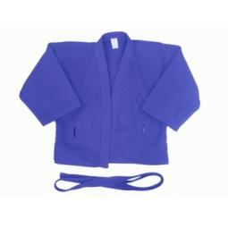 фото Куртка для самбо ATEMI AX5. Цвет: синий. Размер: 42. Плотность: 500 гр/м2