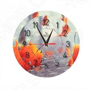 Часы настенные Вега П 1-240/7-240 «Клен-Осенний» клен розовое фламинго в спб где можно купить