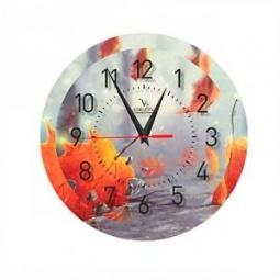 фото Часы настенные Вега П 1-240/7-240 «Клен-Осенний»