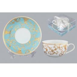Купить Чайная пара Elan Gallery «Королевкий узор»