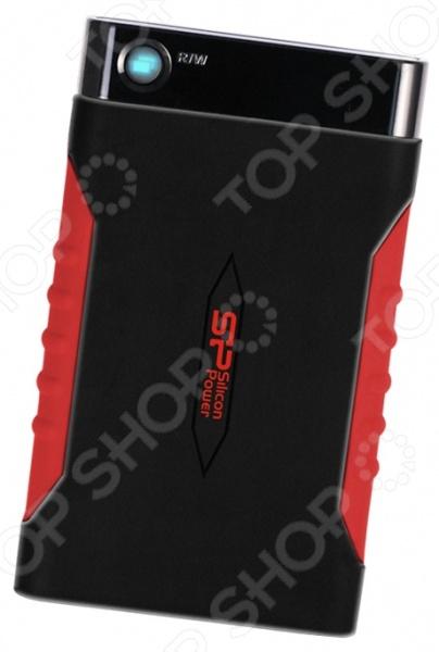 Внешний жесткий диск Silicon Power Armor A15 1TB внешний жесткий диск silicon power armor a85 3тб серебристый [sp030tbphda85s3s]