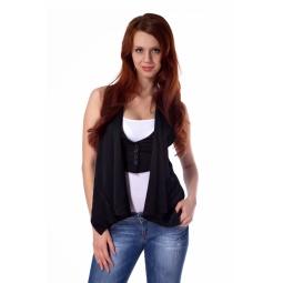 фото Жилет Mondigo 9621. Цвет: черный. Размер одежды: 42