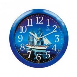 Купить Часы настенные Вега П 1-10/7-39 «Парусник»
