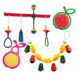фото Набор игрушек-погремушек Аэлита «Первая игрушка»