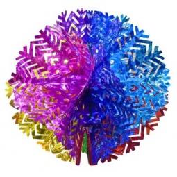 фото Подвес декоративный Новогодняя сказка «Шар-снежинка» 971018