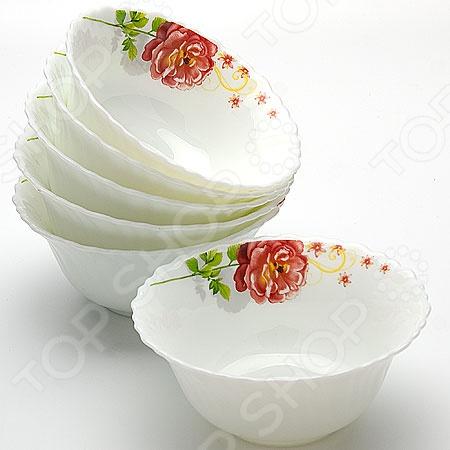 Набор салатниц Mayer&amp;amp;Boch MB-23190Салатницы<br>Набор салатниц Mayer Boch MB-23190 включает в себя шесть предметов. Такие салатницы подойдут как для сервировки праздничного стола, так и для сервировки семейного ужина. Они сделаны из стеклокерамики и украшены декоративным узором. Набор будет достойным подарком любой современной хозяйке, которая ценит качественные и изящные вещи.<br>