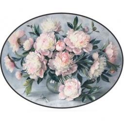 Купить Декупажная карта Karalliki «Цветы на подносе»