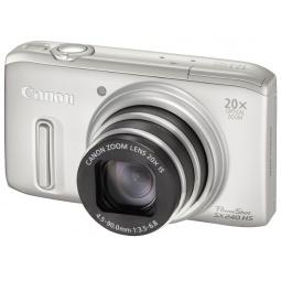 фото Фотокамера цифровая Canon PowerShot SX240 HS. Цвет: серебристый