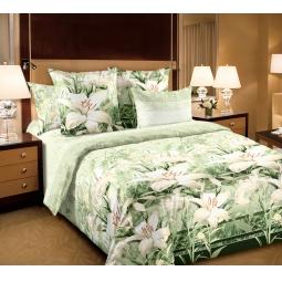 фото Комплект постельного белья Белиссимо «Луиза». 2-спальный. Размер простыни: 220х195 см