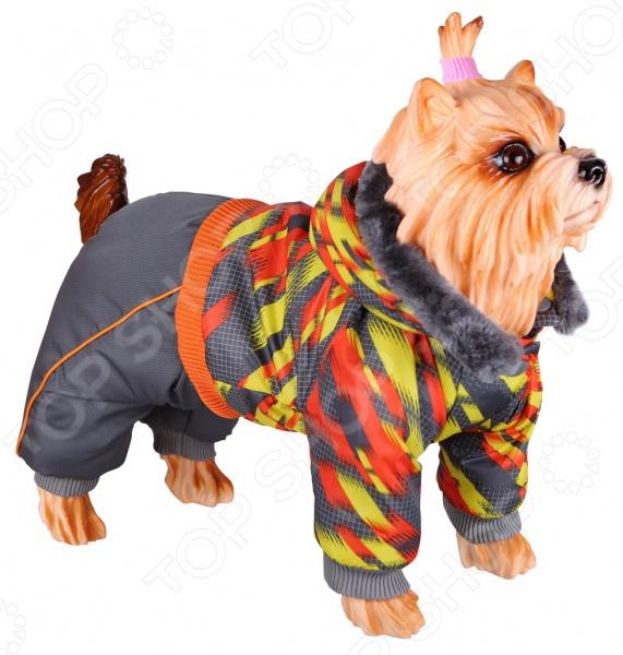 Комбинезон для собак DEZZIE 563568 триол комбинезон зимний микки для собак trio l