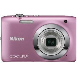 фото Фотокамера цифровая Nikon CoolPix S2600. Цвет: розовый. Рисунок: нет