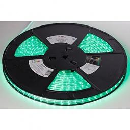 фото Лента светодиодная Эра 3528-220-60LED-IP67-eco-10m. Цвет: зеленый