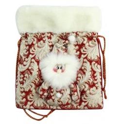фото Мешок для подарков Новогодняя сказка 971989. Цвет: красный