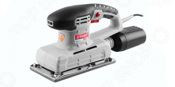 Машина шлифовальная вибрационная Зубр ЗПШМ-300Э-02