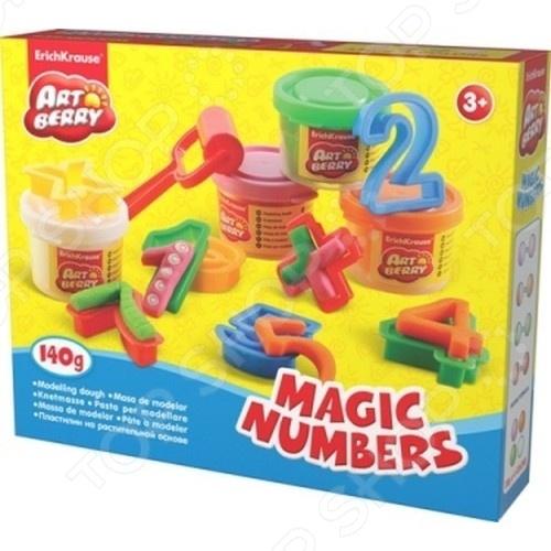 Набор игровой для лепки Erich Krause Magic Numbers