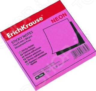 Стикеры Erich Krause неоновые полезное дополнение для рабочего стола, они необходимы для ведения заметок, записи задач и важных поручений и. В упаковке 1 стопка с листиками, которые легко крепятся к любой поверхности: стене, монитору, двери и прочим. При этом не оставляя следов после удаления. Их можно использовать даже в качестве закладок для книг. Бумага с клеевым краем 75х75 мм.