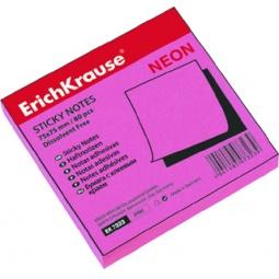 фото Стикеры Erich Krause неоновые. Цвет: неоновый розовый