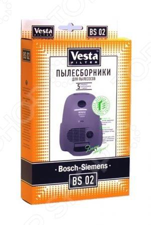 Мешки для пыли Vesta BS 02 мешки для пыли vesta filter zr 02 для zelmer