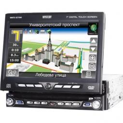 фото Мультимедийная система с функцией навигации Mystery MMTD-9270NV. Программное обеспечение: Навител