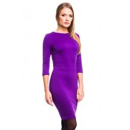 фото Платье Mondigo 5059. Цвет: фиолетовый. Размер одежды: 42