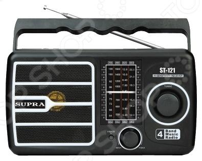 Радиоприемник Supra ST-121 радиоприемник дв св укв