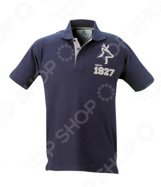 Рубашка KAPRIOL Polo Extreme. Цвет: синий