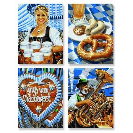 Купить Набор для рисования по номерам Schipper «Октоберфест в Мюнхене»