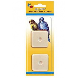 фото Камень минеральный для птиц ЗООМИР с пробиотиком