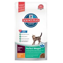 фото Корм сухой диетический для кошек Hill's Science Plan Perfect Weight. Вес упаковки: 250 г