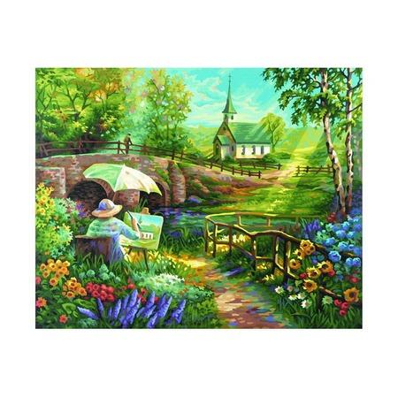 Купить Набор для рисования по номерам Schipper «Лето»
