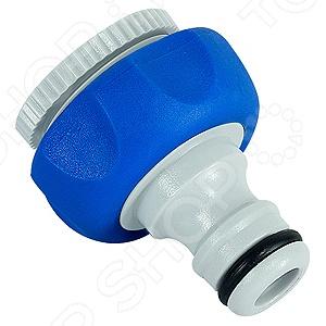 Штуцер резьбовой GREEN APPLE GWTA20-055Коннекторы и штуцеры для соединения шлангов<br>Штуцер резьбовой GREEN APPLE GWTA20-055 - внутренний резьбовой штуцер, который предназначен для соединения шлангов и насадок с кранами, имеющими внешнюю резьбу. Такая деталь позволяет присоединить шланг с коннектором к водопроводному крану, а также ее можно использовать с насосами. Штуцер легко устанавливается и не требует использования инструментов. При хранении и транспортировке предмета рекомендуется избегать воздействия влаги и попадания прямых солнечных лучей.<br>