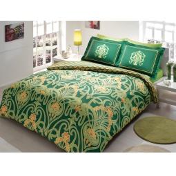 фото Комплект постельного белья TAC Torium. Евро. Цвет: зеленый