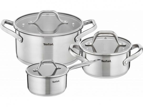 Набор посуды Tefal E825S374 smoby кастрюля tefal с 3 лет