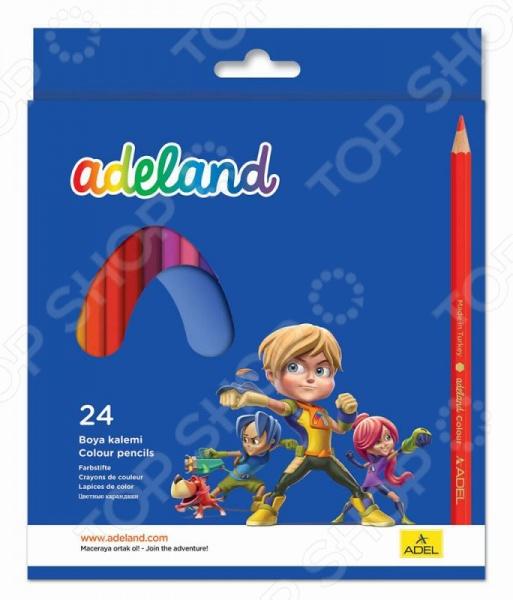 Набор карандашей цветных ADEL 211-2365-100