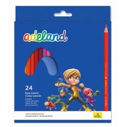 Купить Набор карандашей цветных ADEL 211-2365-100