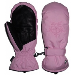 Купить Варежки GLANCE Crystal Mitten (2011-12). Цвет: розовый