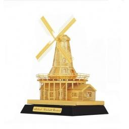 фото Пазл-конструктор 3D TUCOOL «Голландская ветряная мельница»
