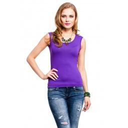 фото Майка Mondigo 326. Цвет: фиолетовый. Размер одежды: 46