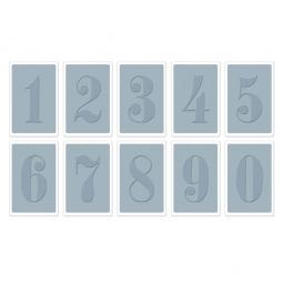 фото Форма для эмбоссирования Sizzix Textured Impressions Цифры