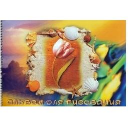 фото Альбом для рисования Ульяновский Дом печати «Тюльпан»