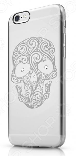 Чехол для iPhone 6 Plus ITSKINS Bling-BLG4Защитные чехлы для iPhone<br>Чехол для iPhone 6 Plus ITSKINS Bling-BLG4 надежно защитит ваш смартфон при повседневном использовании от грязи, пыли, царапин и потертостей. Представленная модель выполнена в виде полупрозрачной защитной накладки, плотно прилегающей к боковым граням дорогостоящего девайса. Накладка настолько легка, что сами производители называют ее второй кожей . Чехол изготовлен из качественных материалов и украшен дизайнерским рисунком, что придает ему стильный и модный вид. Изделие не блокирует какие-либо разъемы устройства, а потому не препятствует комфортному использованию. ITSKINS Bling-BLG4 придаст телефону уникальный вид и подчеркнет вашу индивидуальность.<br>