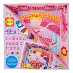Купить Набор для создания поделок ALEX «Мозаика в рамке - Балерина»