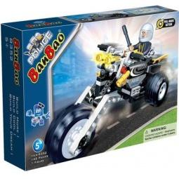 фото Конструктор Banbao Полицейский на мотоцикле 58817, 140 деталей