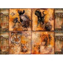 Купить Декупажная карта Karalliki «Африка, фреска»