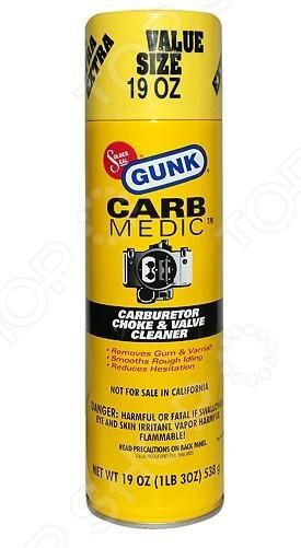 Очиститель карбюратора Gunk M4824 очиститель карбюратора и воздушной заслонки goodyear аэрозоль 400 мл