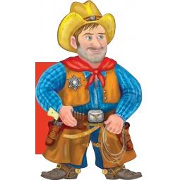 Купить Отважный ковбой