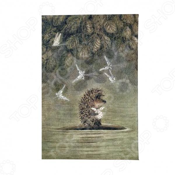 Обложка для автодокументов Mitya Veselkov «Ежик плывет» малыш плывет плывет кораблик